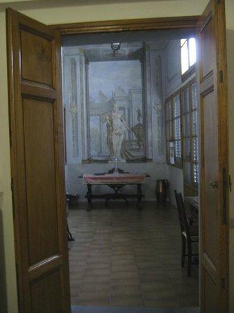 Sanctuary Firenze : Solarium with original frescoes