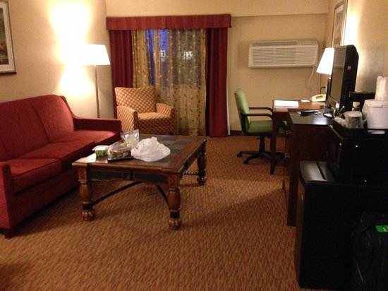 Holiday Inn Hotel Summit County: Living Room in Suite