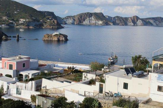 B&B Isola di Ponza: Vista desde mi balcón