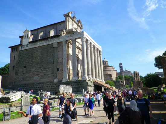 Europe Odyssey Tours: In The Area of the Rome Forum Ruins October 2013