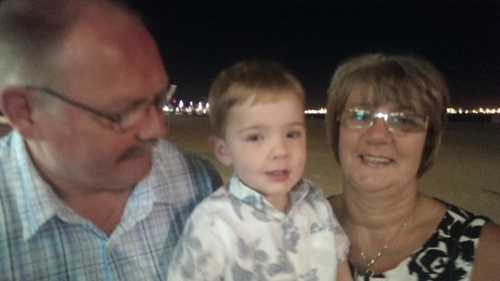 Golden Donaire Beach Hotel: Luca's 3rd Birthday with Nanna and Grandad