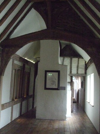 The Royal Hop Pole: the landing area to the rooms