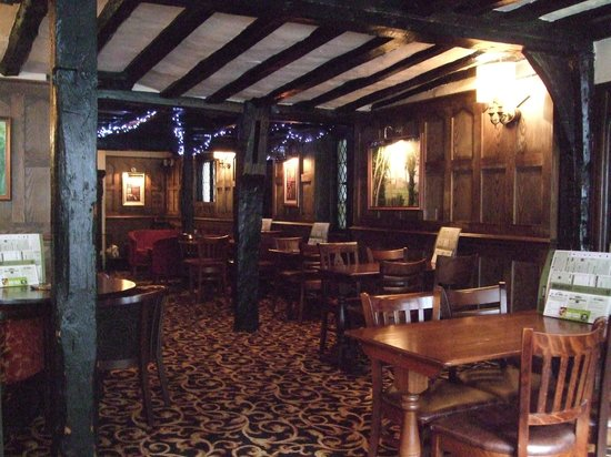 The Royal Hop Pole: one of the Dining/drinking rooms