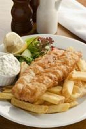 The Old Clubhouse: Fish & Chips