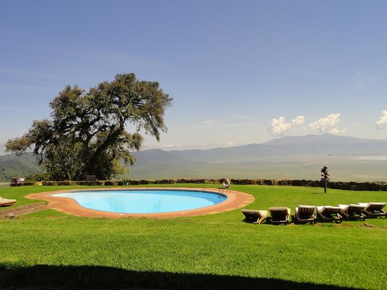 Ngorongoro Sopa Lodge: the pool