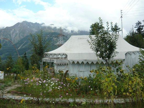 The Monk-Kalpa: tent