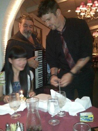 Villa Romana : Celebrating my friend's birthday