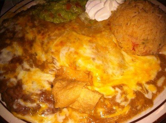 LA Capilla Mexican Restaurant: Cheese Enchiladas Ranchera