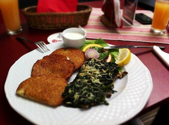 Kapiodoro Restaurant: Okoń z grilla - niebo w gębie!