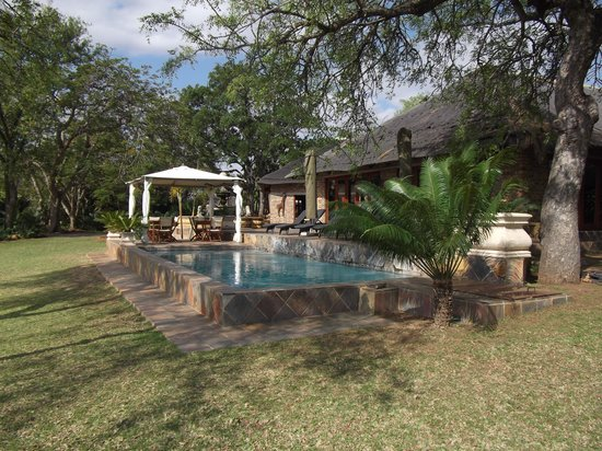 Elandela Private Game Reserve: The pool area