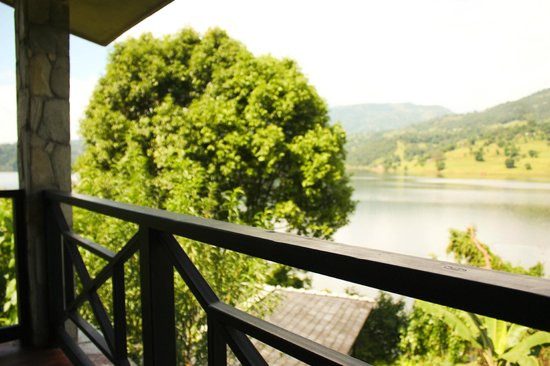 Begnas Lake Resort: View from the room