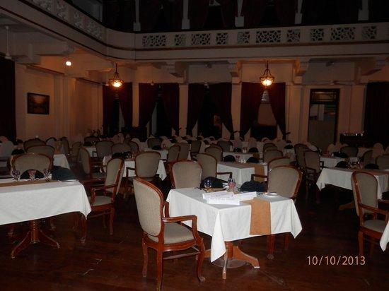 Hotel Suisse : salle à manger