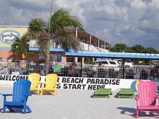 Plaza Beach Hotel - Beachfront Resort : Blick vom Meer