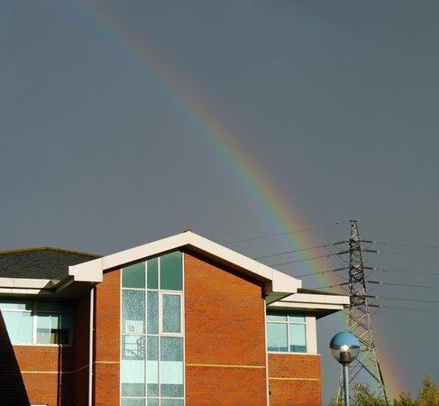 Premier Inn Worcester (M5,Jct6) Hotel: Rainbow over Premier Inn