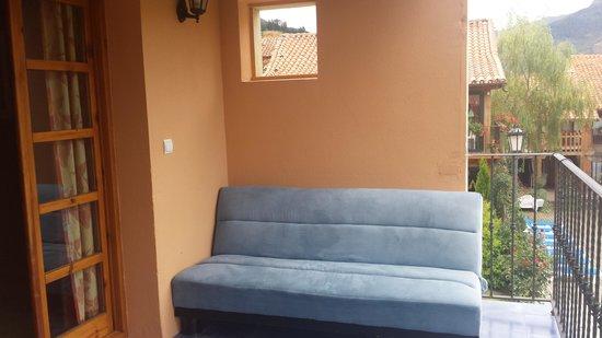 Apartamentos Alquitara: sofa chill