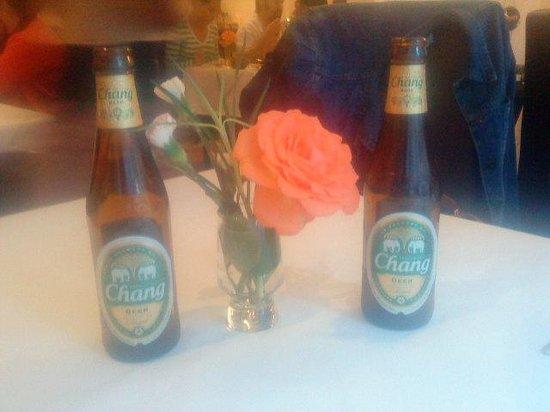 Leelawadee Thai Restaurant & Tapas: Nice beer
