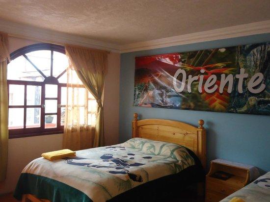 Hotel Tren Dorado: Habitación