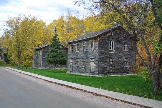 Village historique de Val-Jalbert: Maisons restaurées