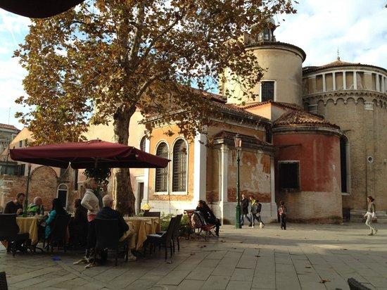 Ristorante Al Bagolo: Great square