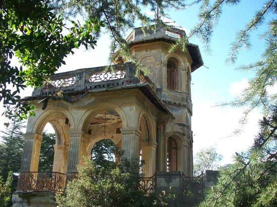 Parco Botanico Villa Rocca: la torretta