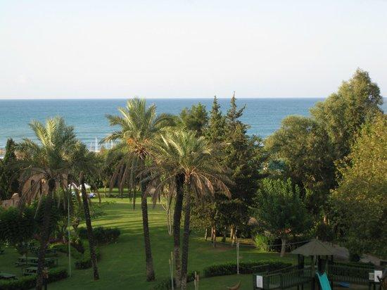 Limak Arcadia Golf & Sport Resort: Uitzicht van uit kamer hoofdgebouw