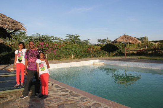 Kichakani Mara Camp: swimming pool was good but surely not the best