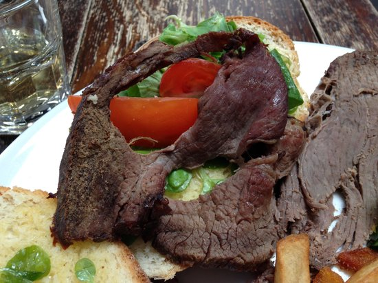 Black Lion Restaurant: Dry Roast Beef