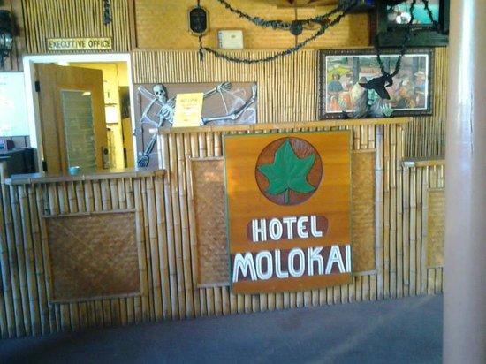 Hotel Molokai : Lobby