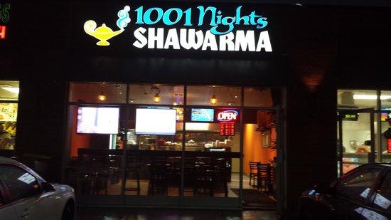 1001 Nights Shawarma: main