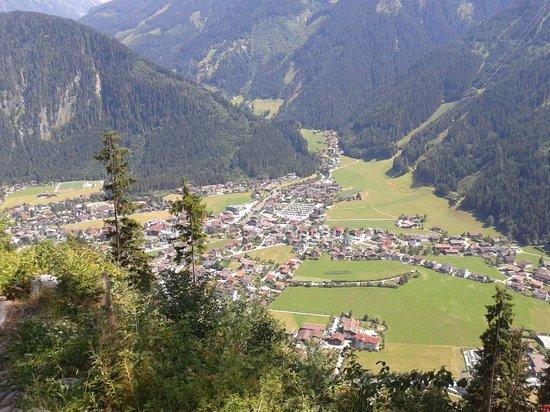 Sport- & Wellnesshotel Held: Uitzicht Mayrhofen