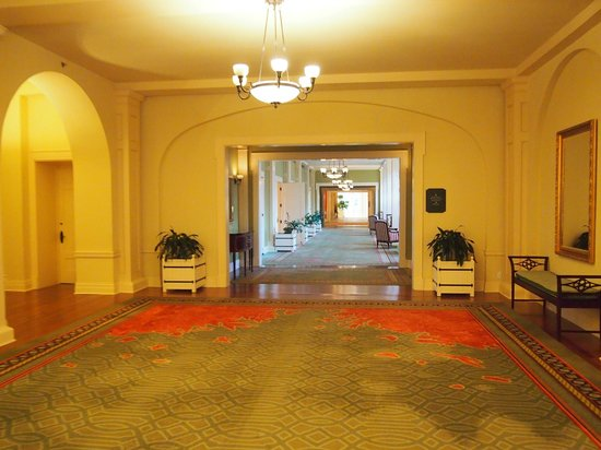 The Omni Homestead Resort : One of many lobbies