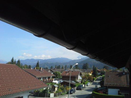 Hotel Rheinischer Hof : balcony view