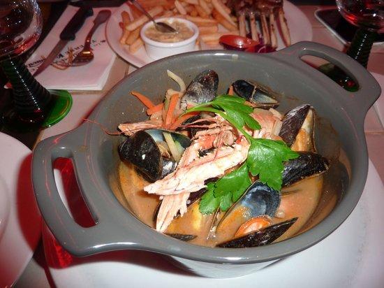 Relais d' Alsace - Taverne Karlsbrau de Troyes : Очень вкусное местное блюдо
