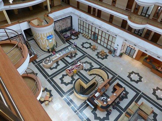Hotel Samarkand Plaza: El hall