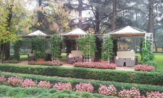 Romantik Hotel delle Rose: il giardino