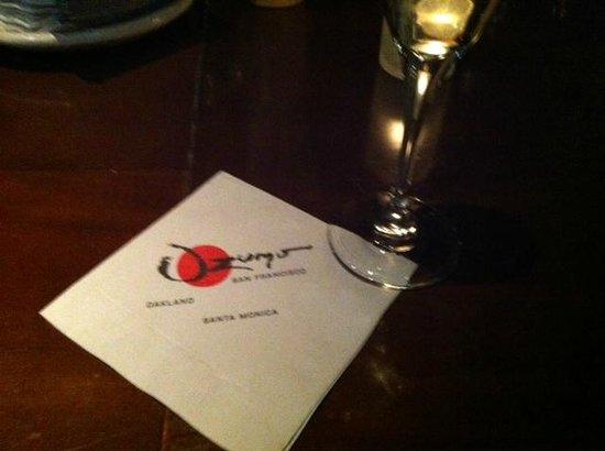 Ozumo : Sitting at the Bar
