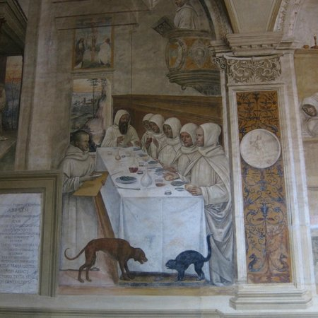 Tours By Roberto: Frescoes in the Abbey of Monte Oliveto Maggiore
