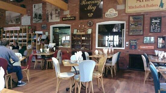 The Belvoir Alehouse: main restaurant