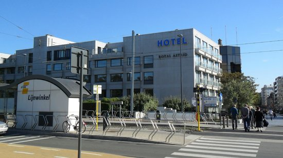Royal Astrid Hotel : Hotel with tram station in front.