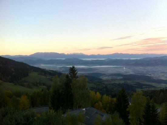 Alpengasthof Wolfgruber: Вид с балкона
