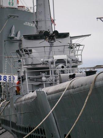 USS Pampanito: Sous marin dans le port de San Francisco 2