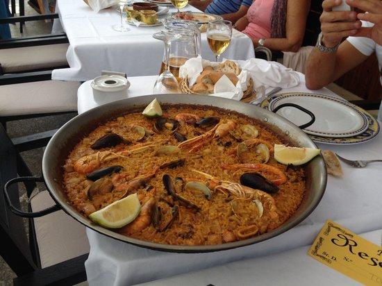 Casa Navarro: Paella di mare
