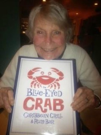 Above the Bay at Thornton Adams Bed and Breakfast : The Blue Eyed Crab at the Blue Eyed Crab!