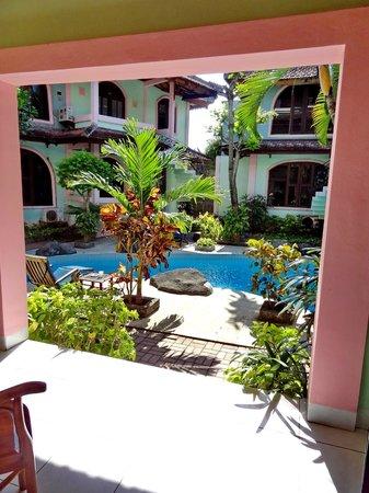 Villa Puri Royan: вид из номера