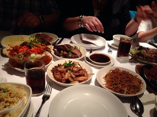 Gars Chinese Restaurant : Fab selection for main meal