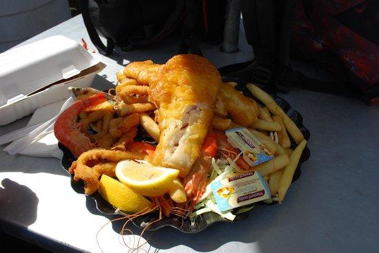 Peter's Fish Market: Seafood Platter