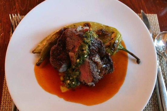 La Merienda: Beef entree..