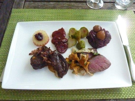 """Restaurant de l'Hotel de la Poste: Lunch """"la chasse"""" at la Poste"""