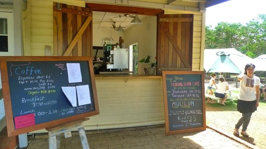 Federal DOMA Cafe: Side entrance