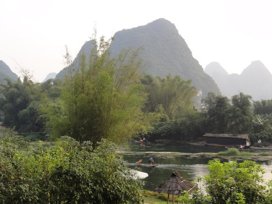 Yangshuo Mountain Retreat: view from balcony